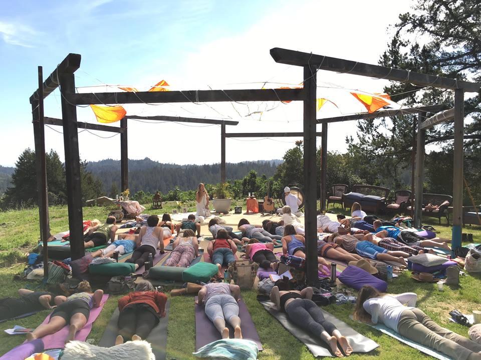 Spring Equinox Ceremony with Naomi Charanpal Kaur at Dharma Ridge -Santa Cruz Mountains (2016)