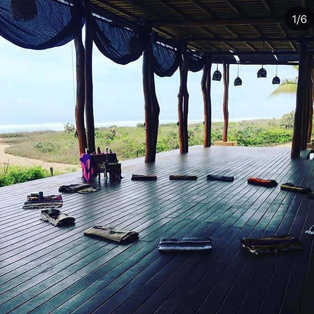 Emerging from a retreat this weekend, I'm reminded of the transformational #POWER of unplugging, cleansing, stillness, nature and sacred circle.. #commUNITY  _ So I am even more EXCITED to announce next year's  SUMMER SOL RETREAT: Meditation + Mindful Movement !  JUNE 5-9th 2019  at @playaviva in ZIH MEXICO * an Eco/Regenerative Retreat Center :: all food grown on their organic farm :: 3 delicious meals a day to #NOURISH the body + feed the soul * _ I am so honored to collaborate again with the incredible ✨@radiant_spiral_retreats ✨to co-create + offer this very special  experience for you all.  It really is a DREAM come true - to combine all of my interests and studies that I've been steeped in the last 10 years, and to have the space + time to really dive in deep together! #Yoga #Ayurveda #Transpersonal #Psychology #Pranayama #Breathwork #QiGong #Massage #Healing #practices  _ You will learn how to balance and harness the {fire} energy of Summer + gain tools to unlock the power you hold- the power to live a life in alignment with the wisdom of your HEART!  #PEACE + #PASSION  _ IMAGINE stepping away from day-to-day life routines and habits and relaxing into a #flow where you can feel the aliveness and TRUTH of your BEING. _ It's the perfect opportunity to realign, reconnect, and recommit to walking a path of authenticity + Self-LOVE! _ What seeds are you planting this NEW MOON ♐️ for the coming cycle + seasons? 🌙🌱 _ JOIN US    *LINK IN BIO *