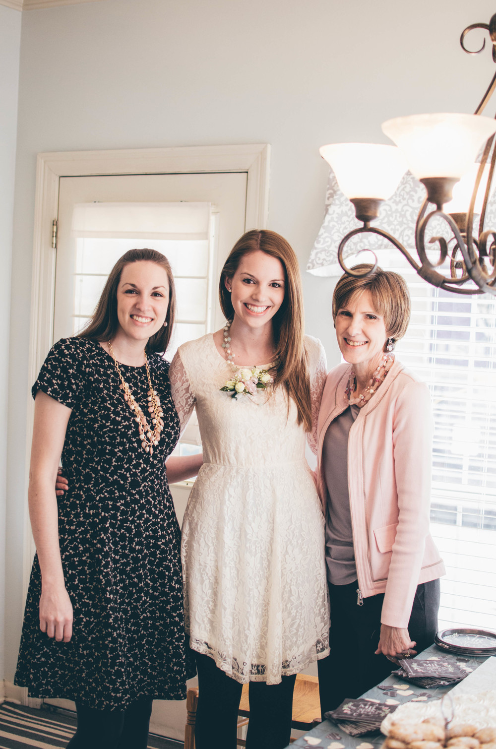 Maid of Honor/Sister, Bride, & Mother of the Bride