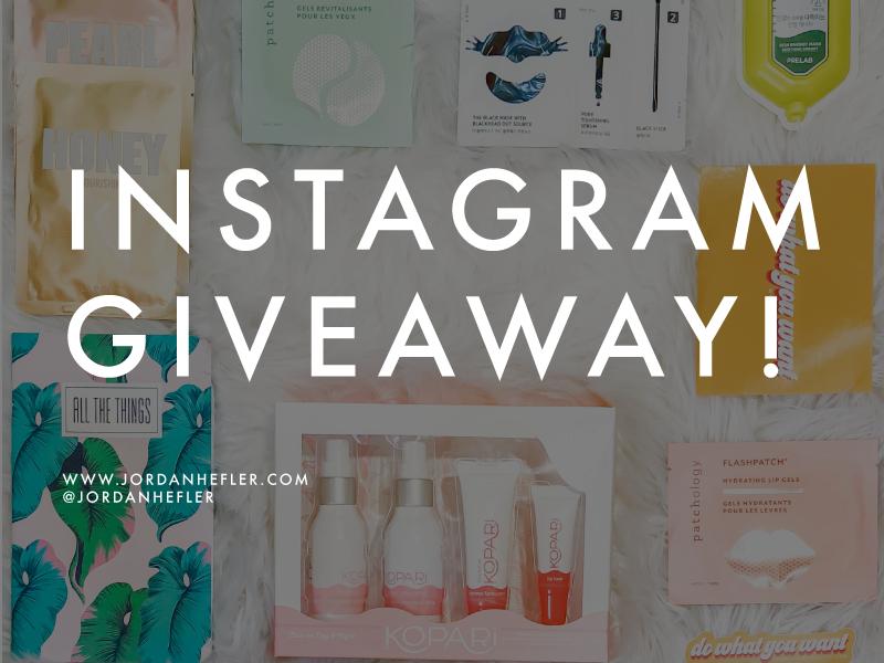 Instagram Giveaway | Jordan Hefler