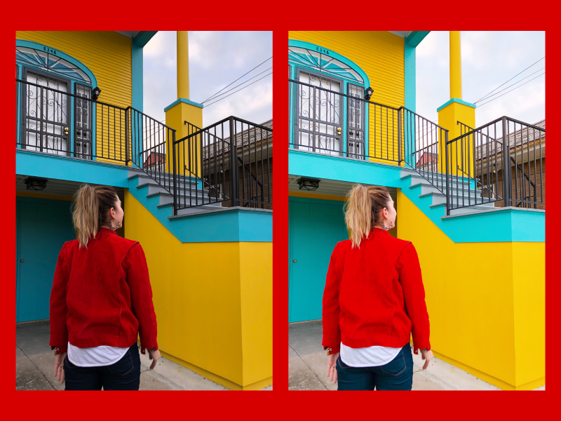A Color Story is great for adding a bright pop to your overall shot!