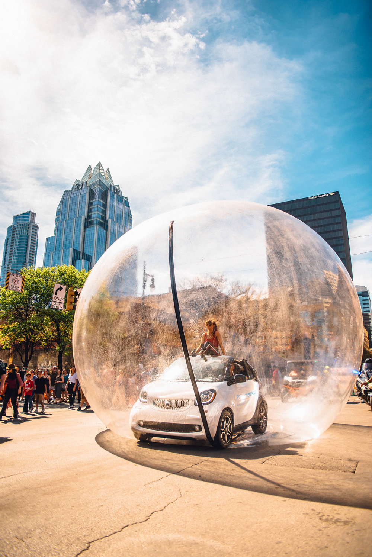 Smart Car at SXSW 2018 | Jordan Hefler