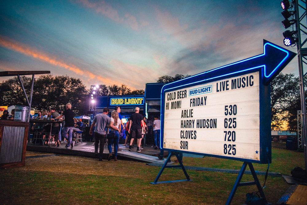Bud Light Dive Bar at SXSW 2018 | Jordan Hefler