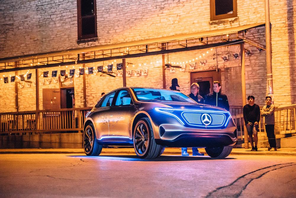 Concept EQ Mercedes at SXSW 2018 | Jordan Hefler