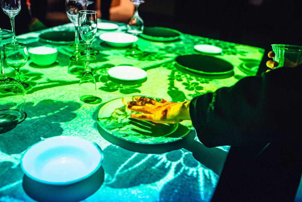 Feast art installation at SXSW 2018 | Jordan Hefler