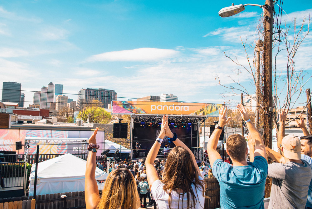 Pandora stage at SXSW 2018 | Jordan Hefler