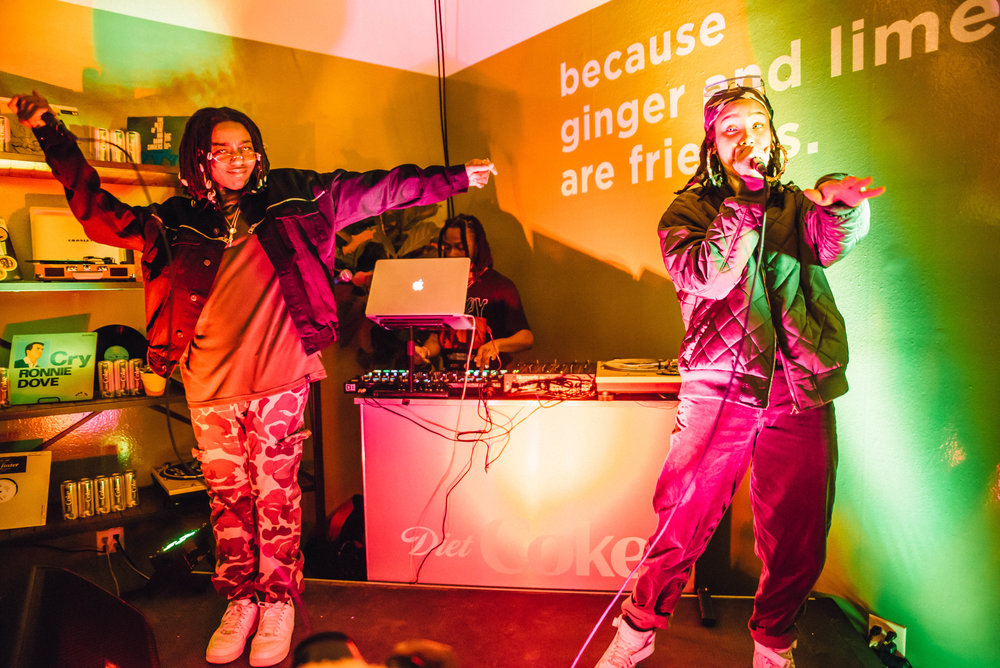 Diet Coke party at SXSW 2018 | Jordan Hefler