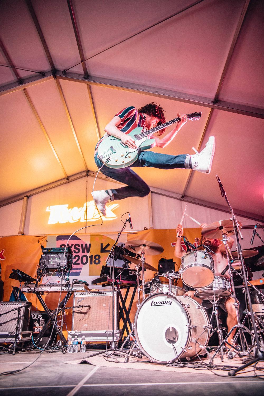 Black Pistol Fire at SXSW 2018 | Jordan Hefler