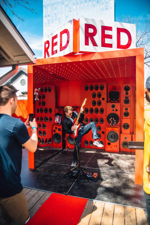 M&M's party at SXSW 2018 | Jordan Hefler