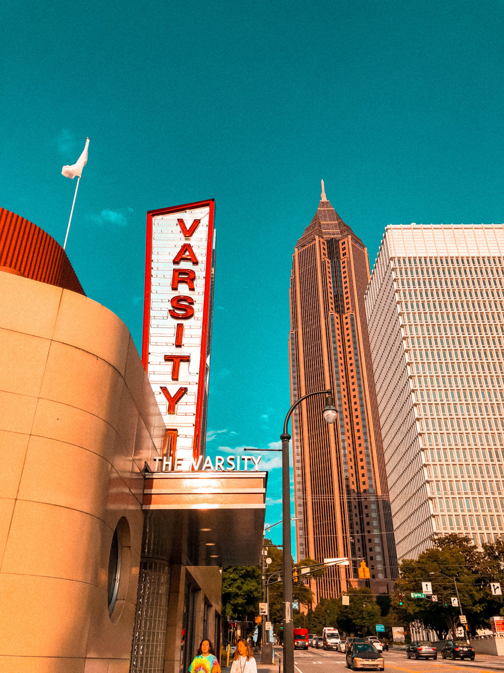 The Varsity | Places to Eat in Atlanta | Jordan Hefler