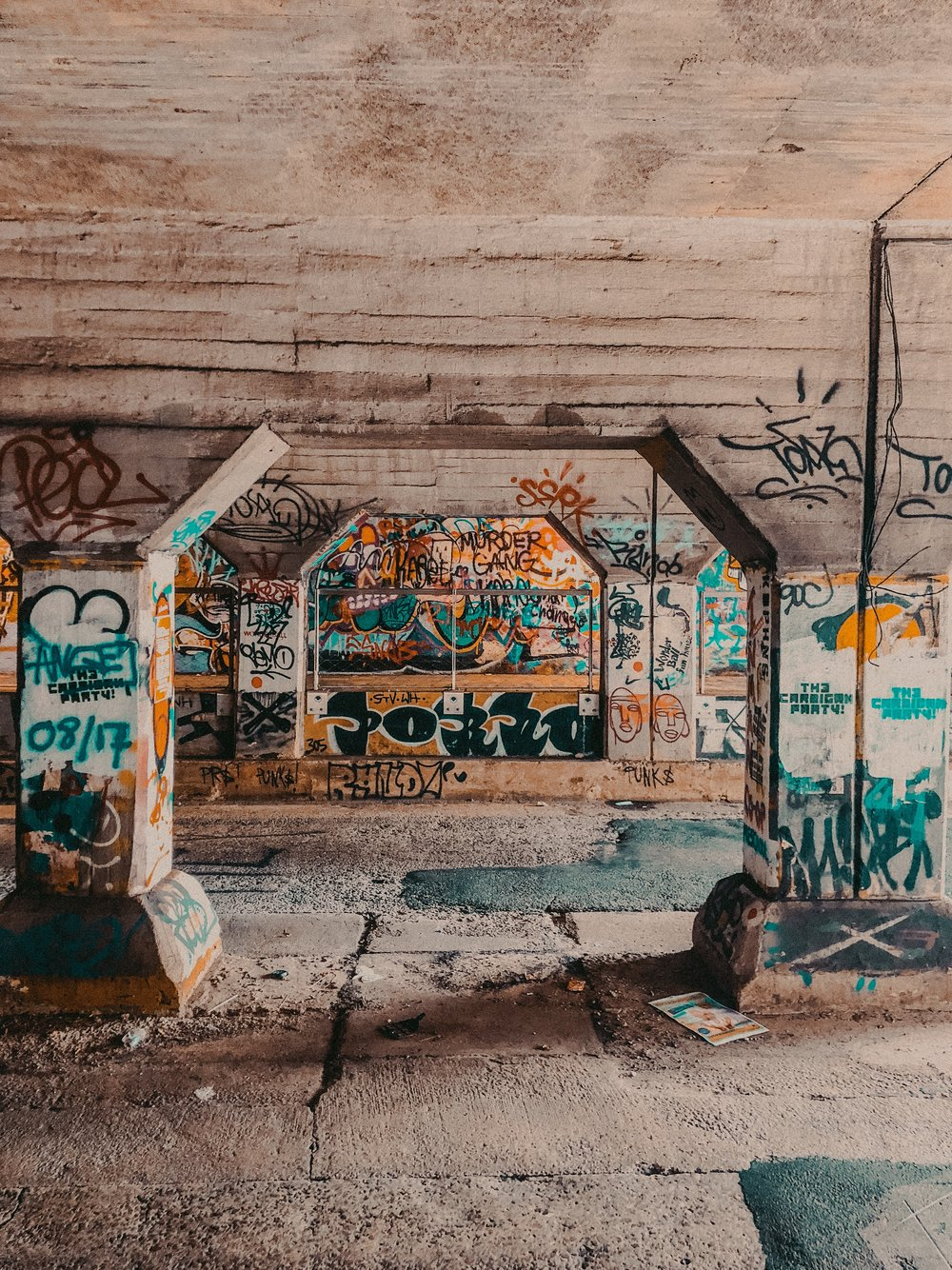 Krog Street Tunnel | Where to Visit in Atlanta | Jordan Hefler