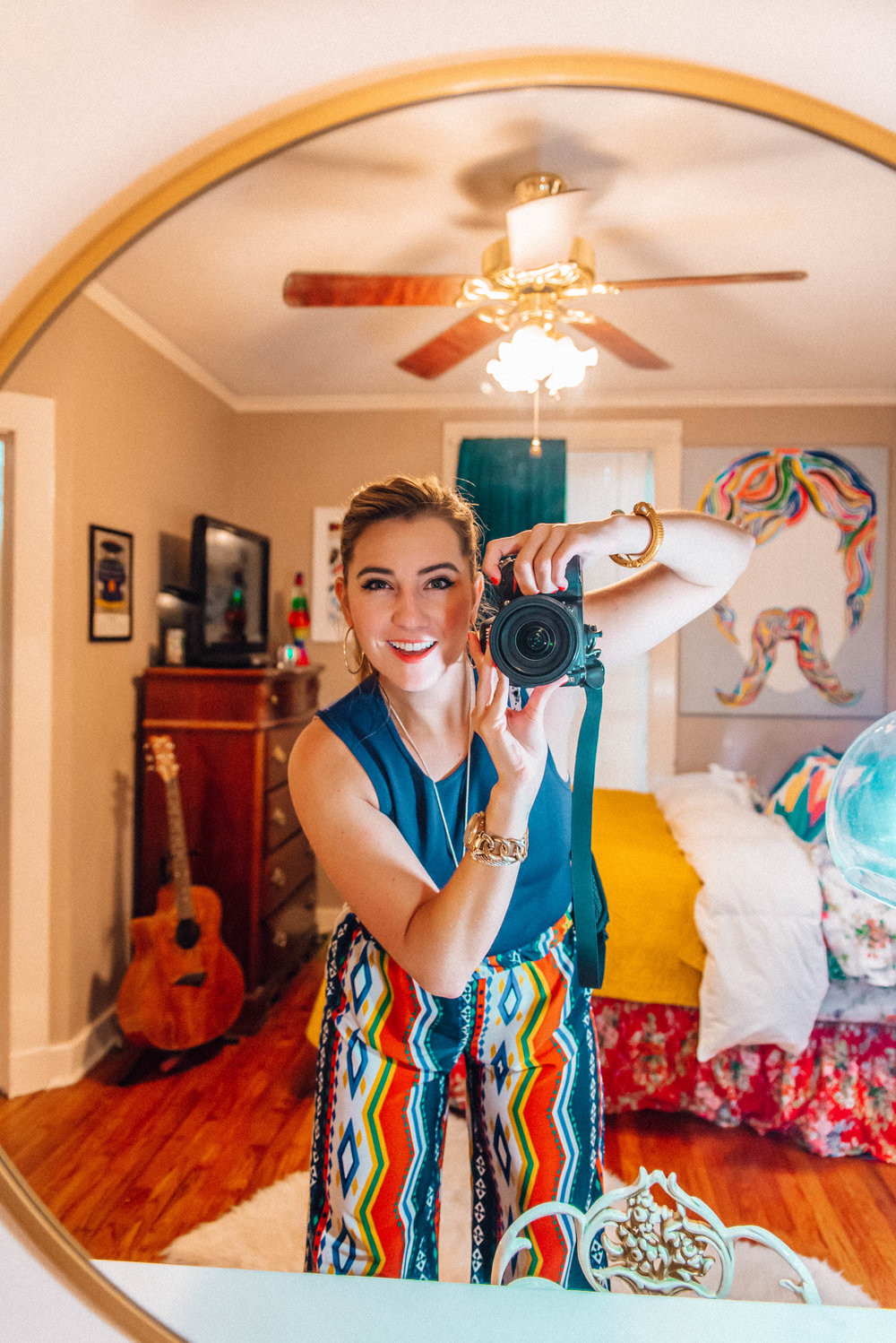 My Chromatic Home | Garden District Apartment Tour with Jordan Hefler in Baton Rouge, Louisiana