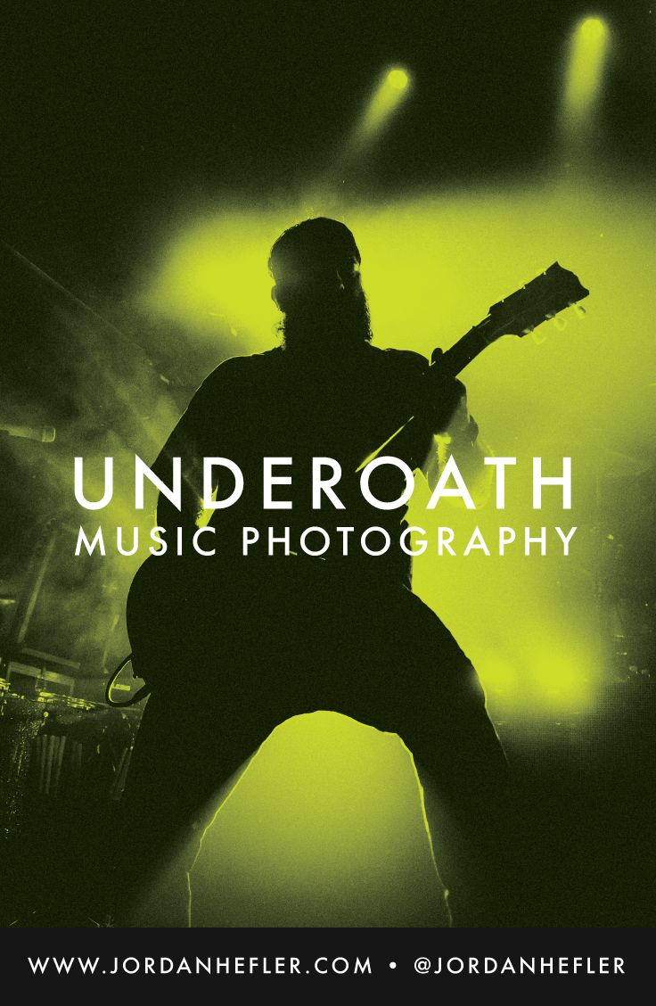 Underoath in New Orleans | Music Photography | Jordan Hefler