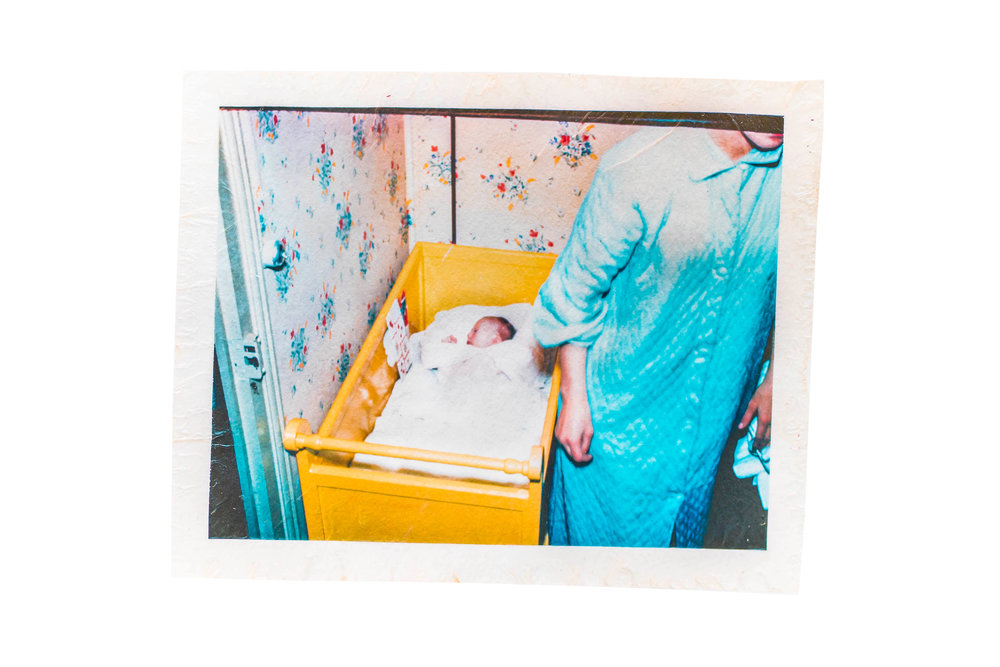 LEAVING  remainder / reminder  Jordan Hefler  Kodachrome Slide 1959 / Fujifilm Emulsion Lift 2014