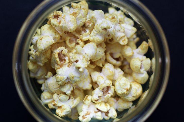tumeric popcorn