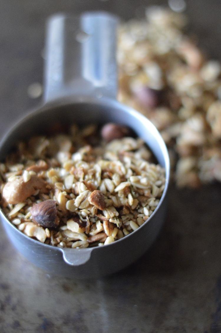 rosemary granola