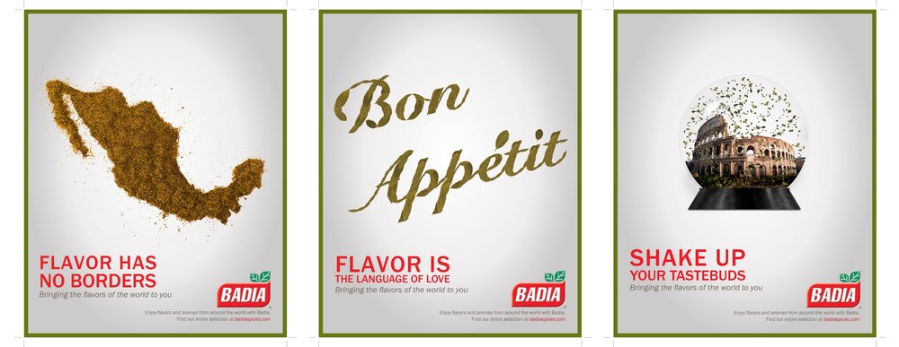 BADIA: Bringing the flavors of the World to you!