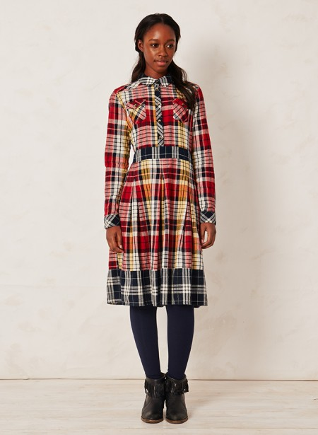 MACQUARIE CHECK DRESS | $68