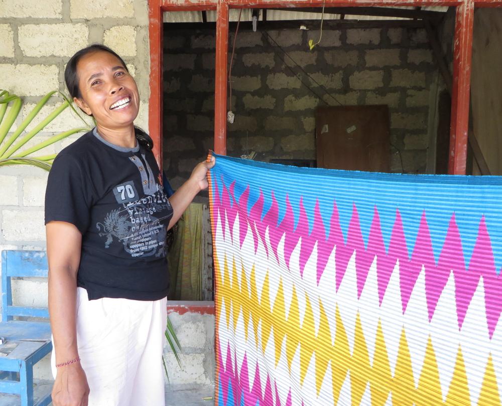 Nyoman Sutiati, a Balinese Weaver.