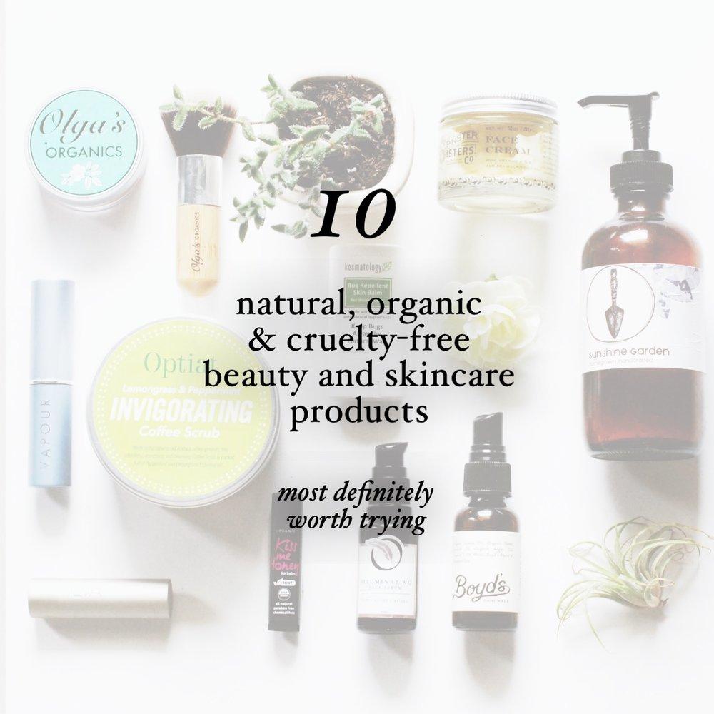 Beauty: Green Eco-Chic Organic Beauty Products photo