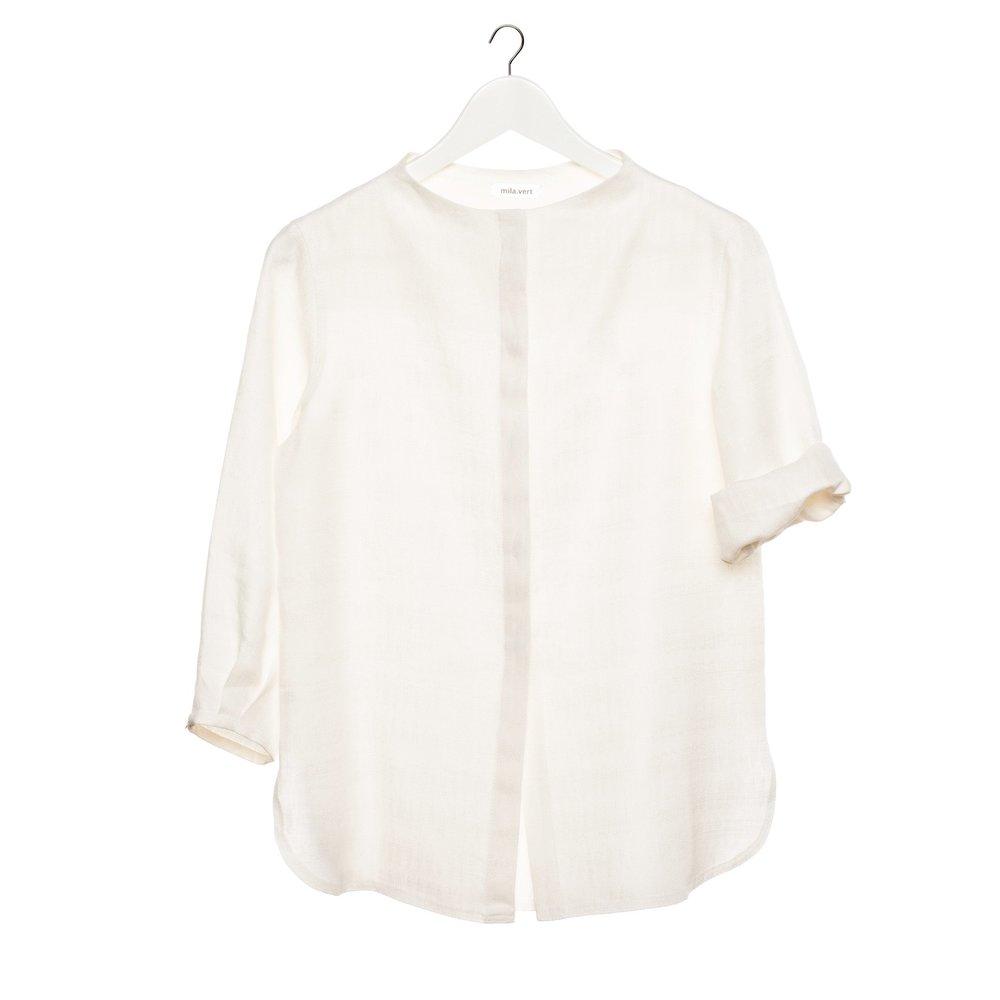 Linen Shirt, Mila.Vert $111