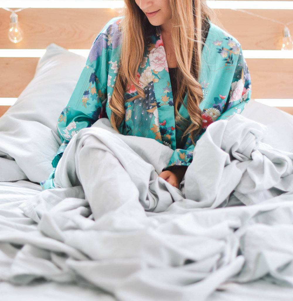 Tencel Bed Sheets, Living Fresh $33