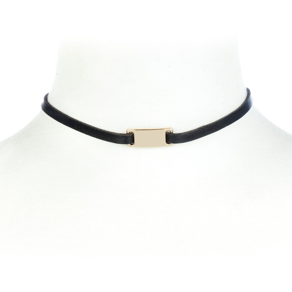 Leja Choker, BRAVE Leather $40 {10% off with code sustainablychic}
