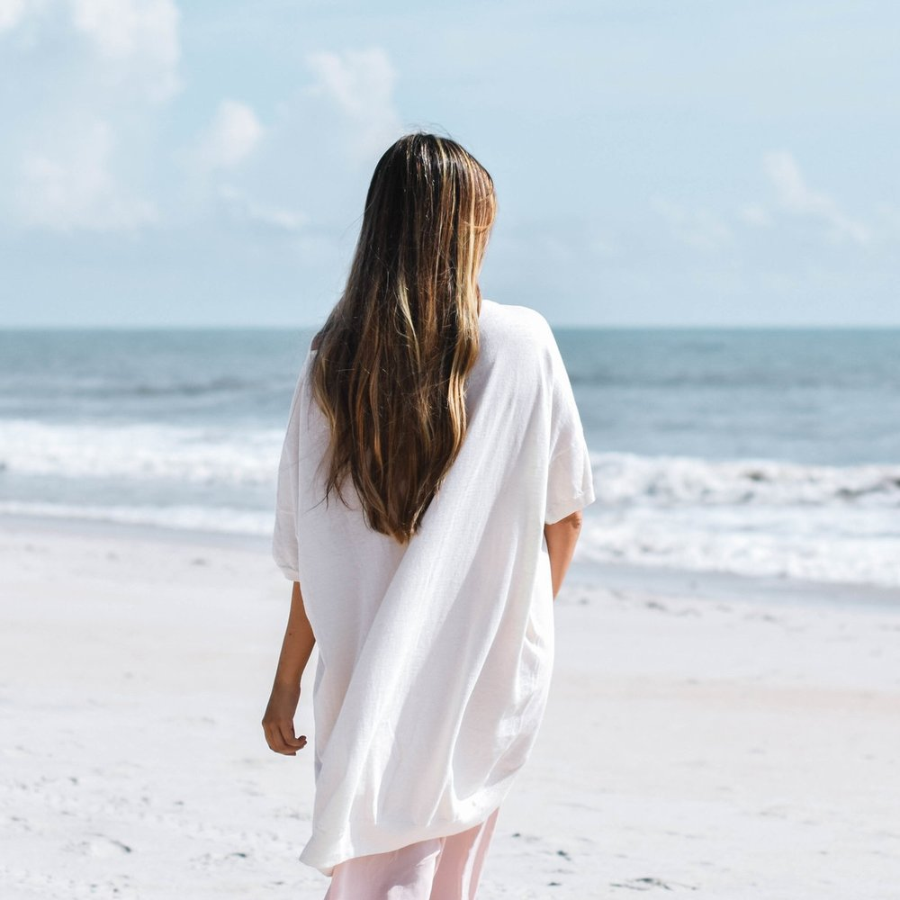 French Linen Oversized Tee, Sassind $158