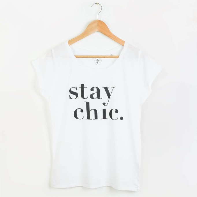 Stay Chic Organic Cotton Tee, Viva's Project $42 {10% off with code sustainablychic}
