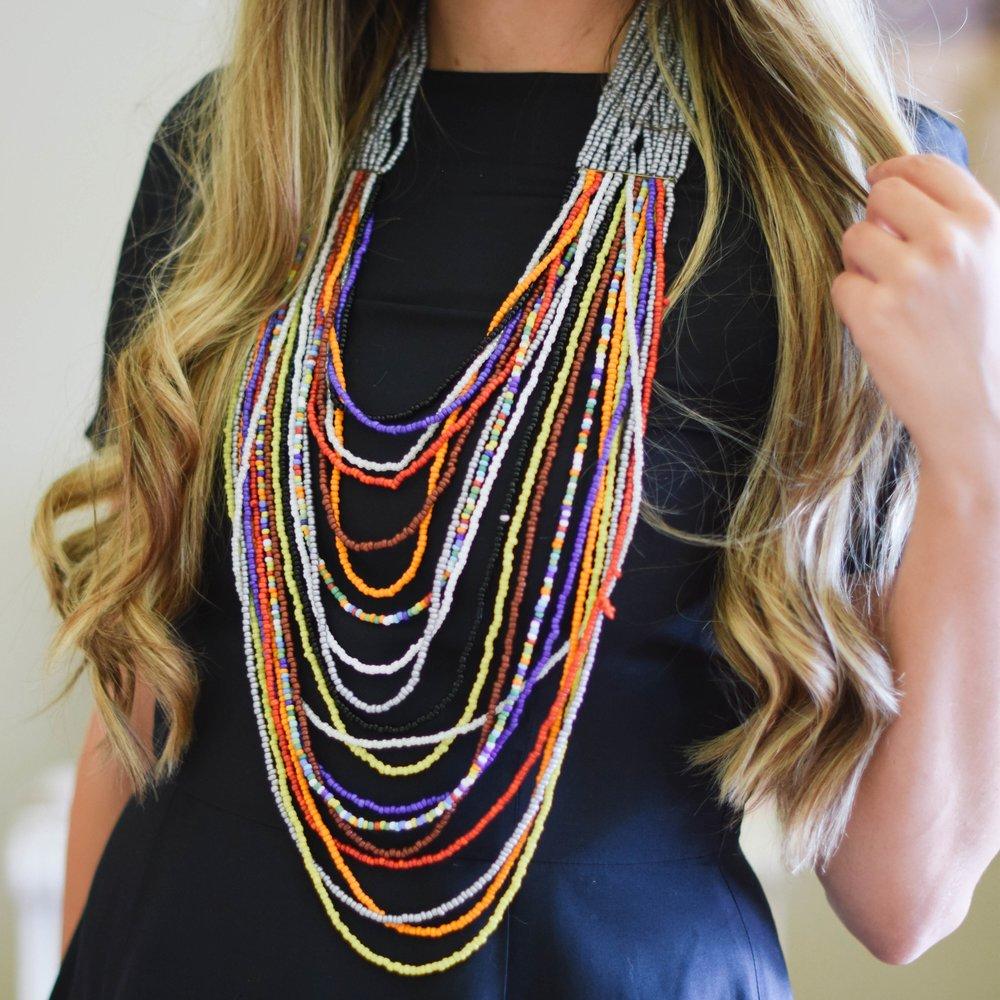 Maasai Necklace, Amani ya Juu $44
