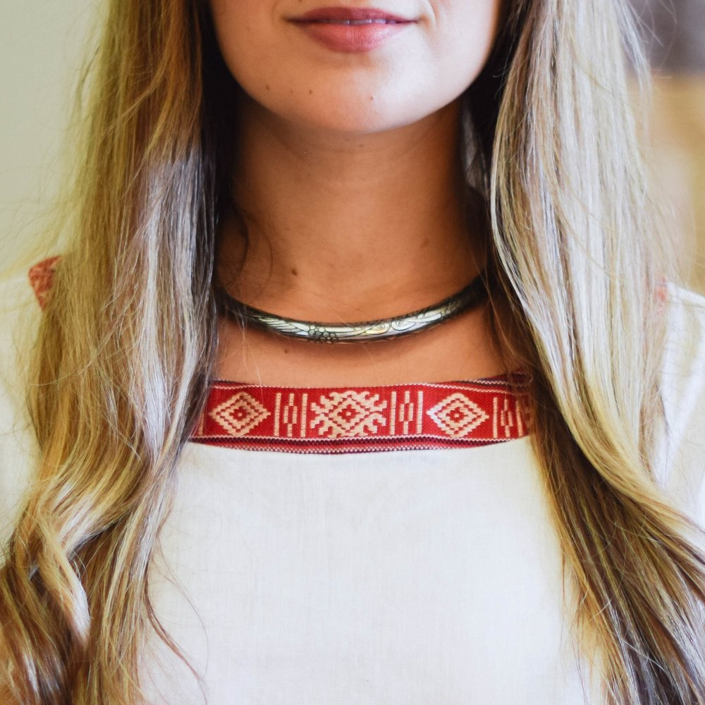 Selene Collar Necklace, MyFight $35 {20% off with code SUSTAINABLYCHIC20}