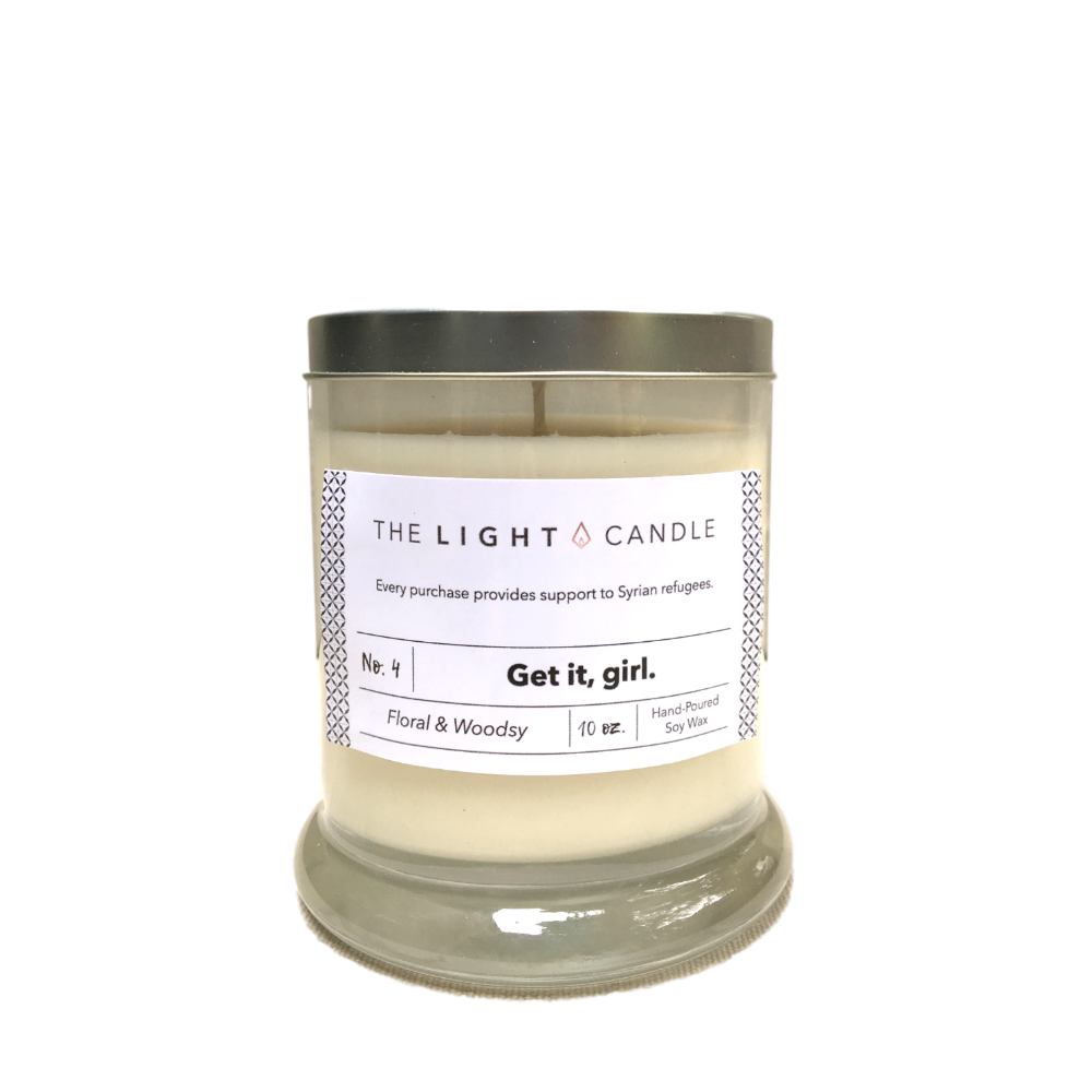 Flower Market Candle, The Light Candle $25 *use code CHIC for 15% off*