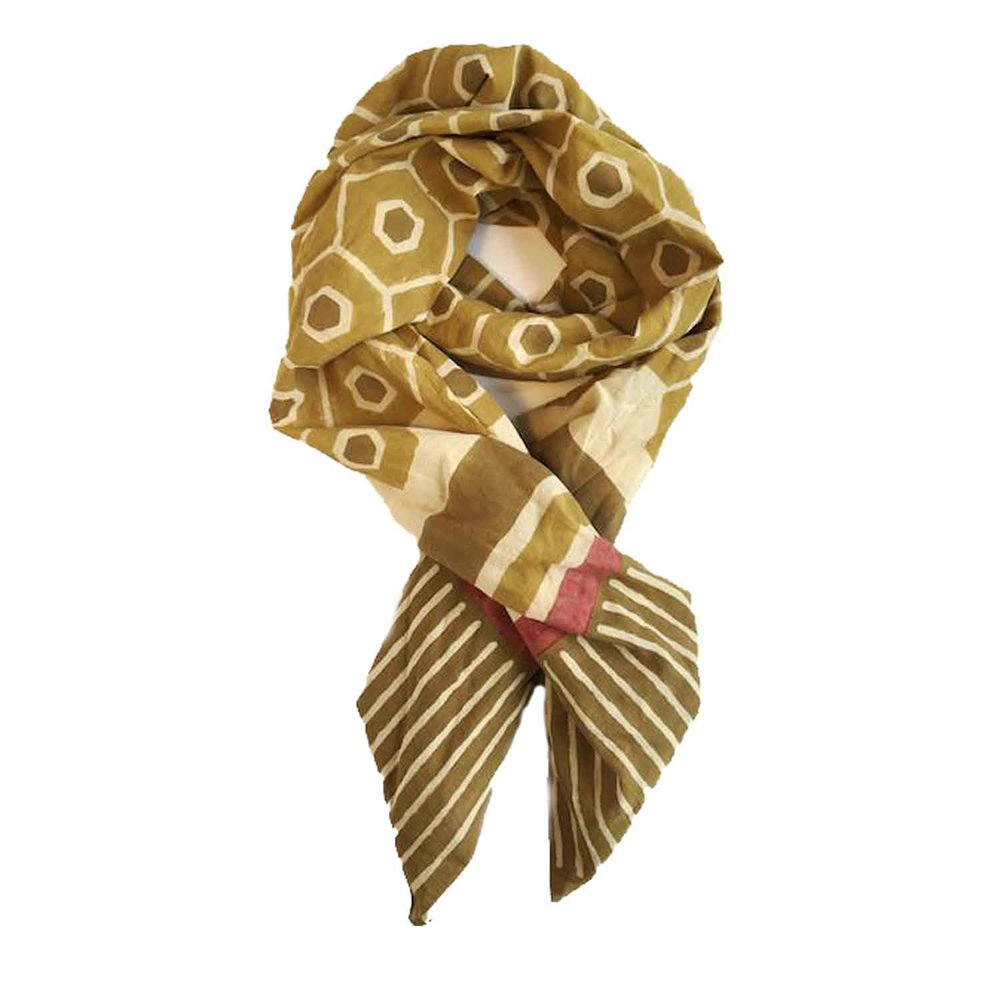 Honeybee Scarf ,  Beastly Threads  $100