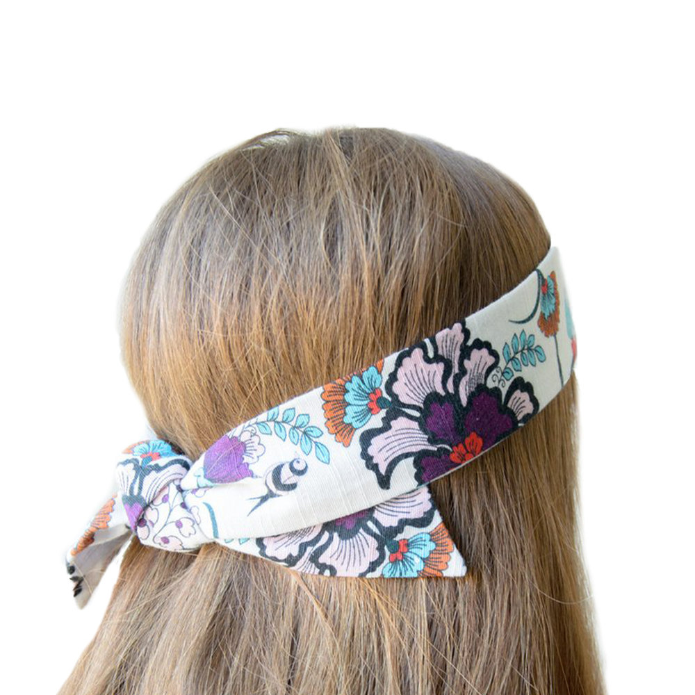 Upcycled Tie Headband ,  Victoria Road  $34  *use code  VRCHIC20  for 20% off*