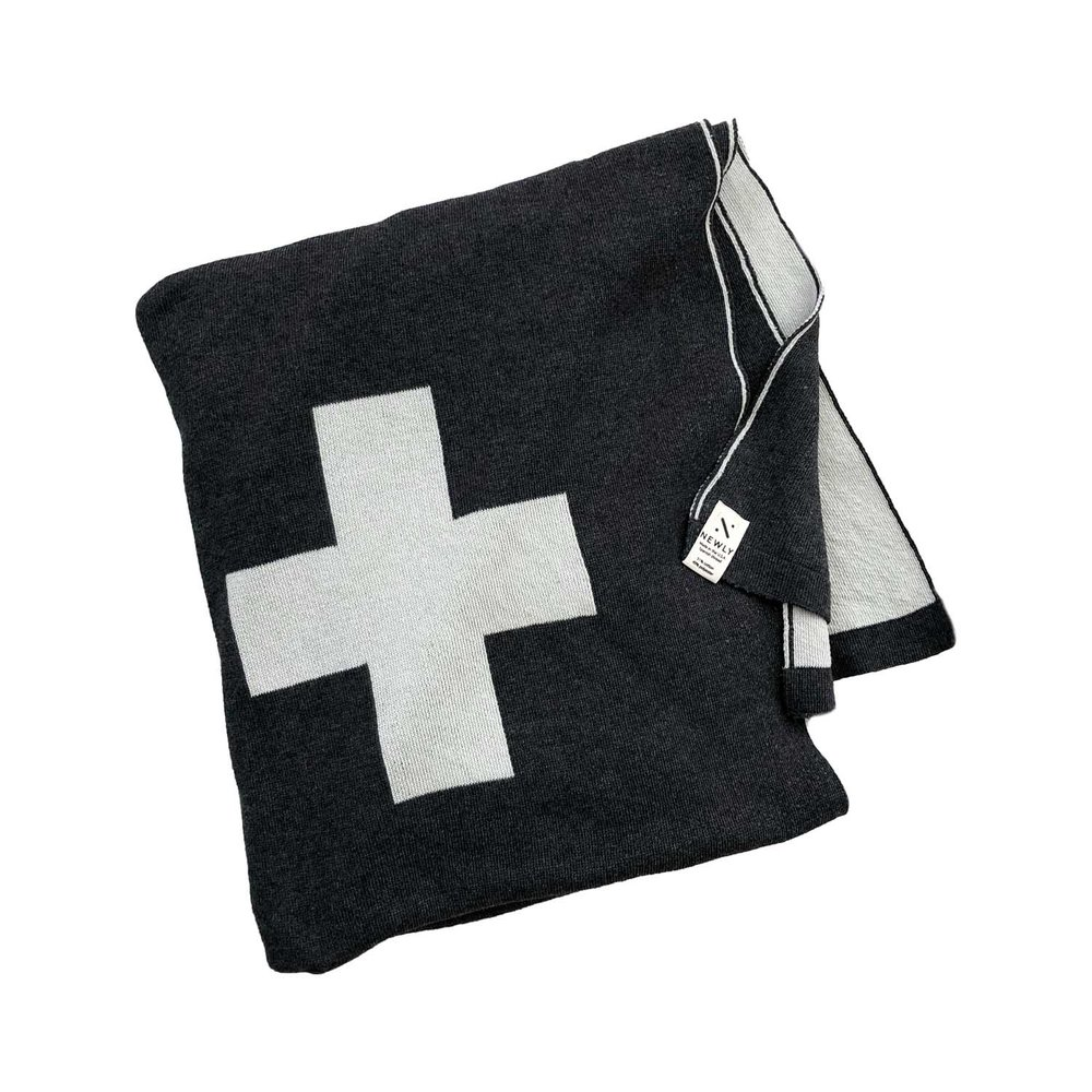 Cross Throw Blanket ,  Newly  $98