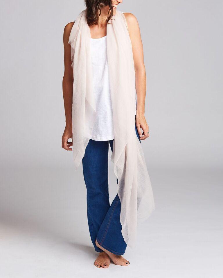 100% Australian Merino 'Paper Wool' Scarf  {   $48}