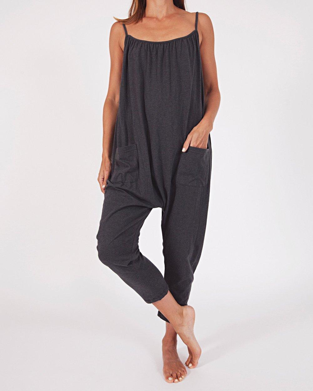 Cotton Jersey Jumpsuit   {$64}