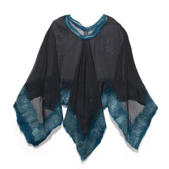 Frame Poncho,   Christa Louise  $195  {use code  SUSTAINABLYCHIC  for 10% off through 4/26}