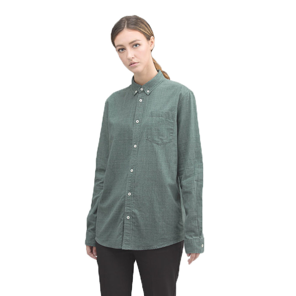 Button Collar Poplin Shirt,   Cosmos Studio    $80  {use code  chic15  for 15% off}