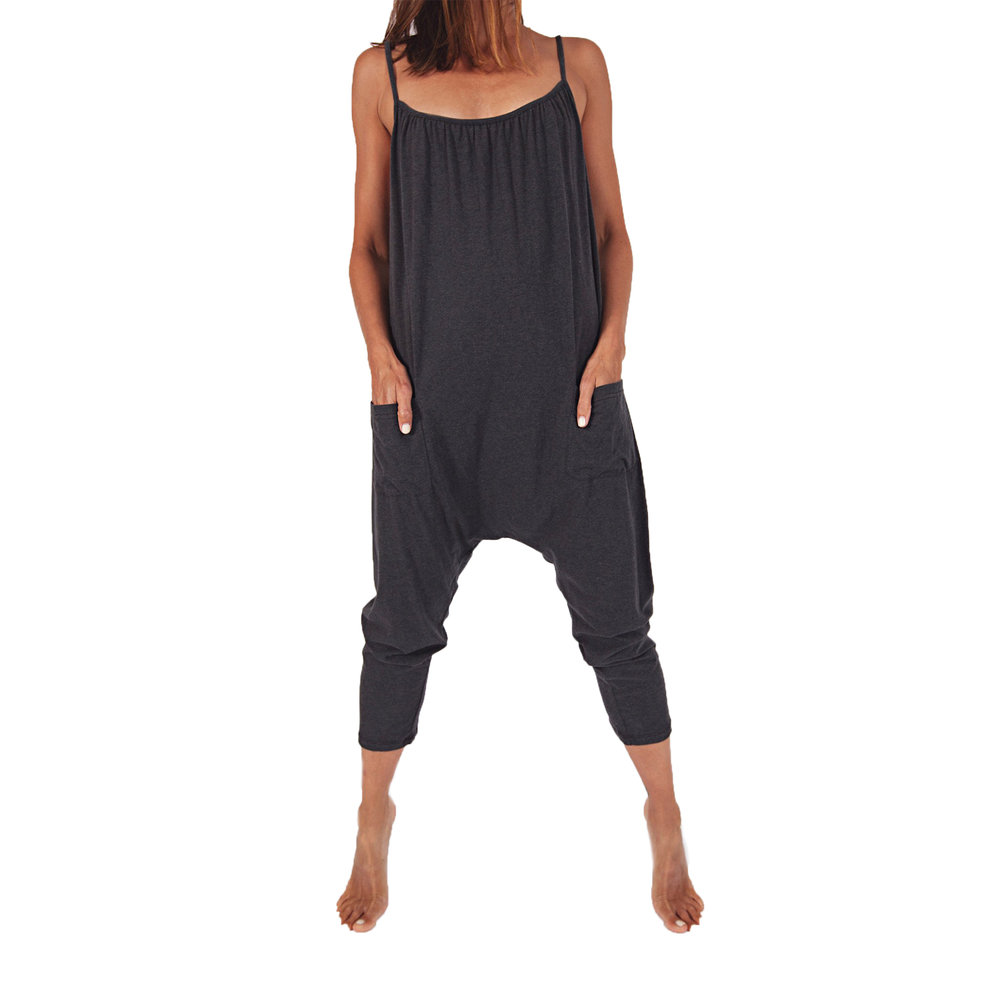 Cotton Jersey Jumpsuit,   Sassind  $64
