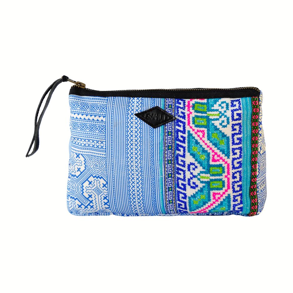 Ocean Breeze Pouch,    Samui Bags  $32