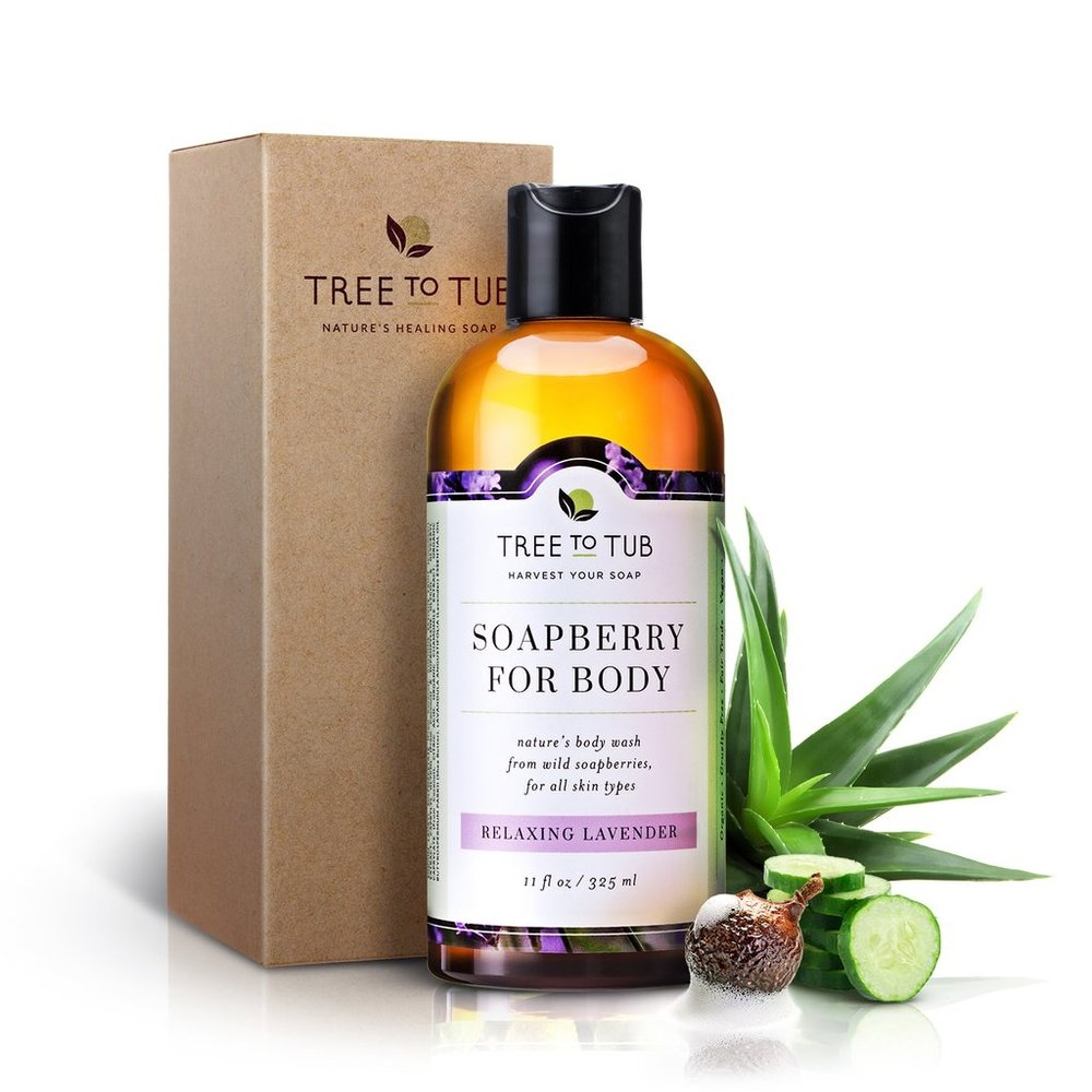 Organic Soapberry Body Wash ,  Tree to Tub  $28