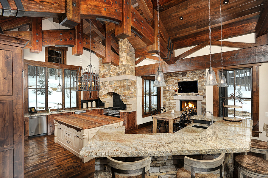 Rustic Kitchen Custom Design