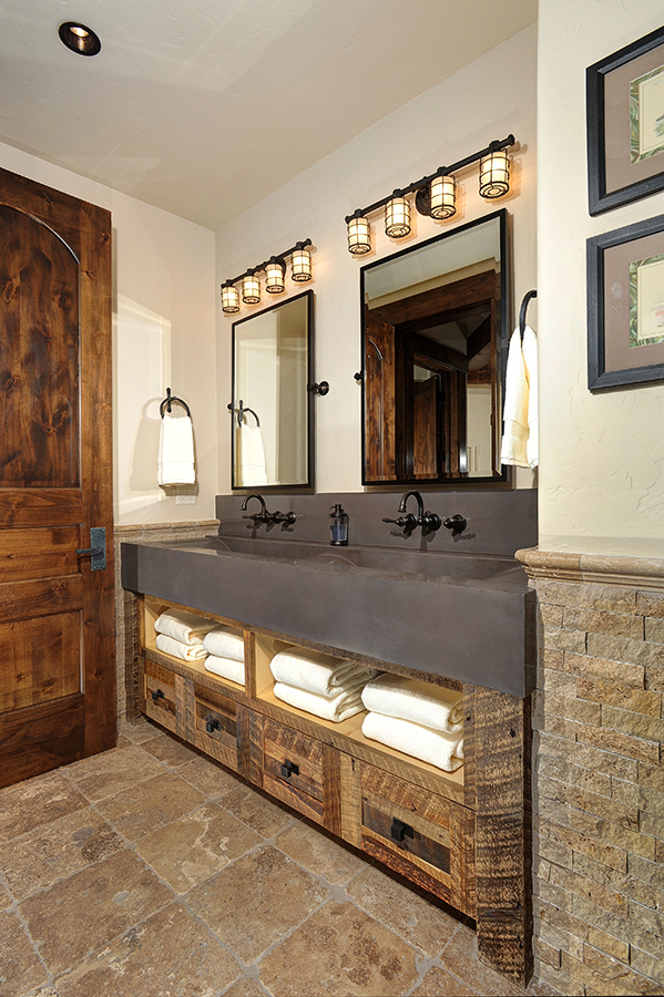 Rustic Bath Custom Design