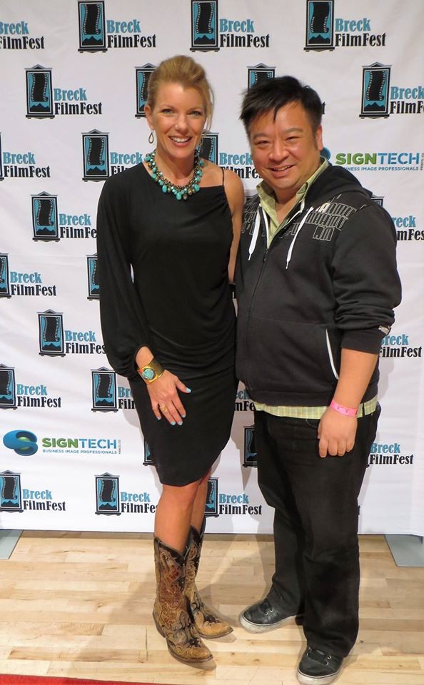 Rex Lee with Kitchenscapes at Breck Film Festival