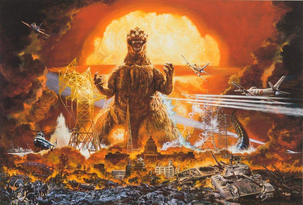 Noriyoshi Ohrai / Godzilla ©Toho
