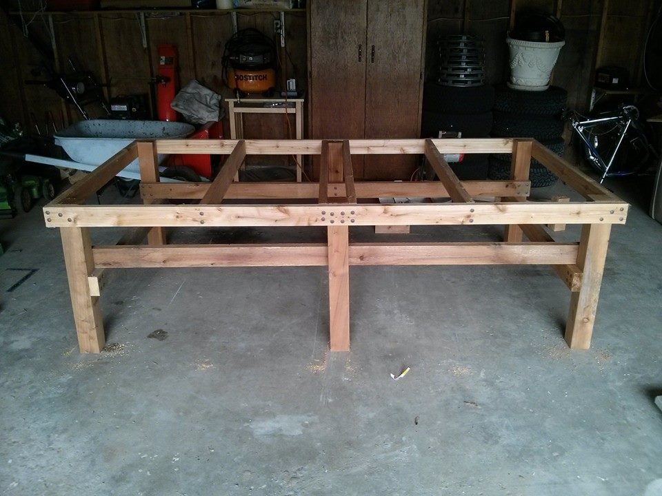 How to Build a Concrete Ping Pong Table u2014 Joe Learns Things