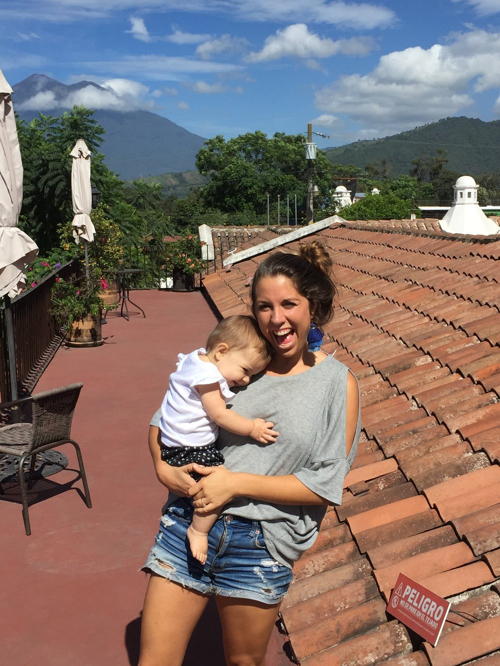 Andrew spent the summer in Guatemala and we got  to go visit!