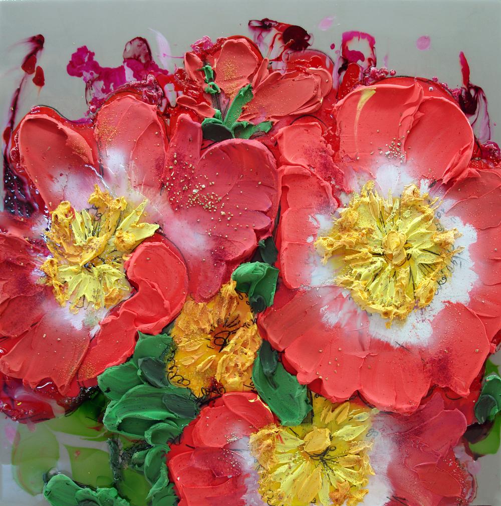 3107 groviglio di rose selvatiche 31%22x31%22.JPG