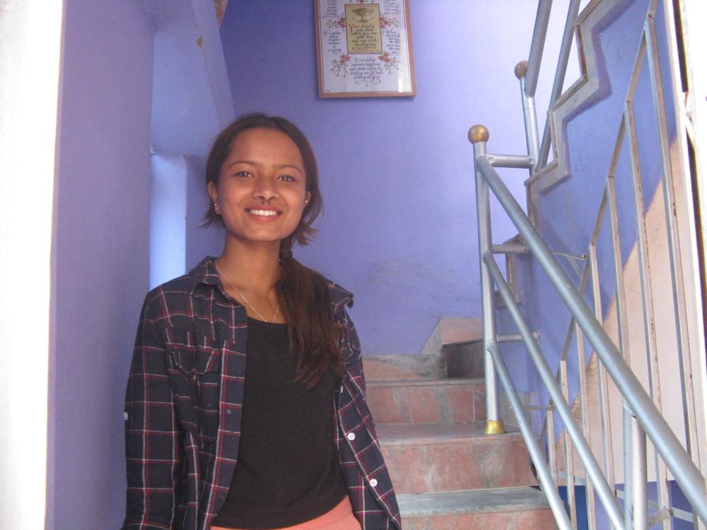Raj's daughter